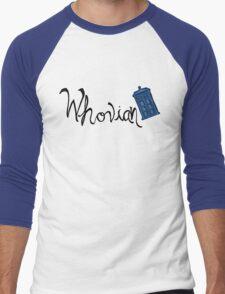 Whovian - Dr. Who Men's Baseball ¾ T-Shirt