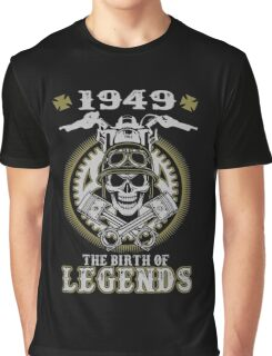 1949 The Birth Of Legends Graphic T-Shirt