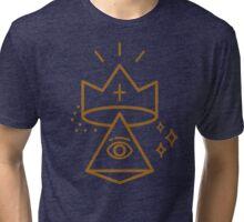 ALLSEEING EYE KING Tri-blend T-Shirt