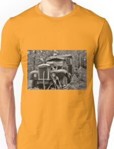 Mack Truck Black And White Unisex T-Shirt