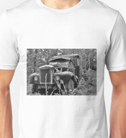 Mack Truck Black And White Unisex T-Shirt