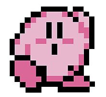 kirby 8 bits Photographic Print