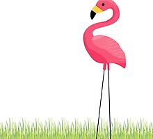 Pink Flamingo by junkydotcom