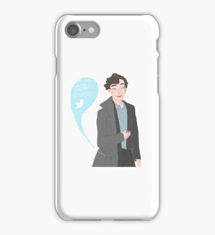 Sherlock Season 4 TST iPhone Case/Skin