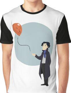 Sherlock and the John Balloon Graphic T-Shirt