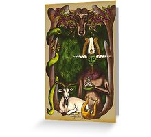 Horned Gods Greeting Card