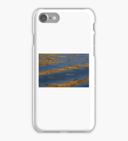 Bands of gold iPhone Case/Skin