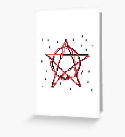 Pentagram 2 Greeting Card