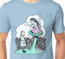 Hookah Smoking Caterpillar Unisex T-Shirt