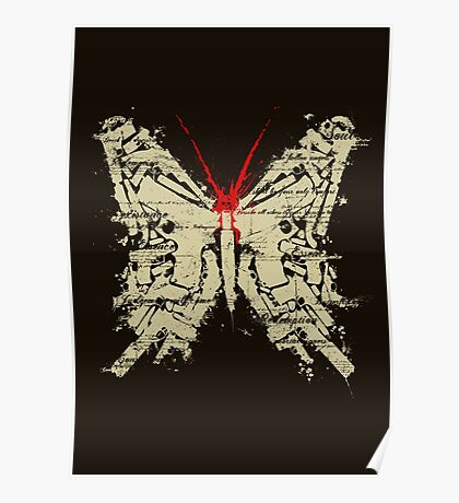 Deadly Species - Butterfly Poster