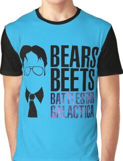 Dwight Schrute Bears, Beets, and Battlestar Galactica Graphic T-Shirt