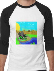 Garden Frog Men's Baseball ¾ T-Shirt