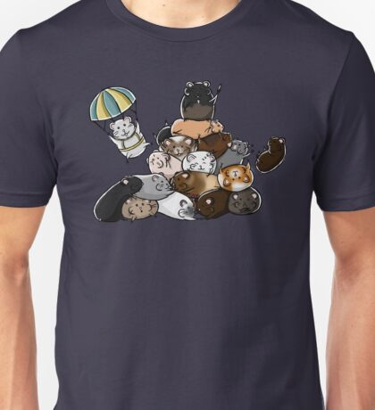 Pile of Hamsters Unisex T-Shirt