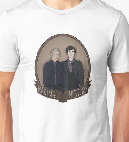 Sherlock And John - Making History Unisex T-Shirt
