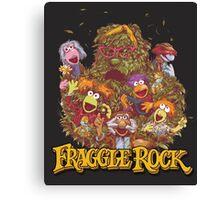 Fraggle Rock Retro Canvas Print