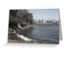 Sydney City | Greenwhich Baths Greeting Card
