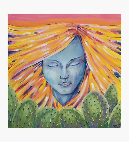 The Watcher (Lady of the Desert) Photographic Print