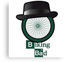 Breaking Bad parody: biking bad Canvas Print