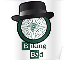 Breaking Bad parody: biking bad Poster