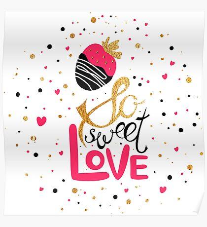 So sweet love Poster