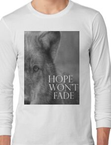 Hope Wolf Long Sleeve T-Shirt