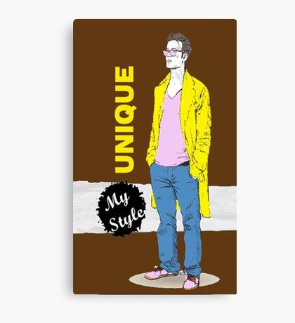 Unique Men Canvas Print