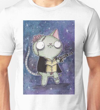 Zombie Han Solo Cat Unisex T-Shirt