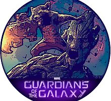 Guardians of the galaxy by MWarlock