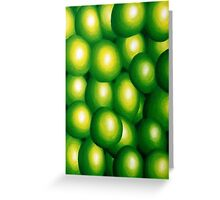 Cheeky Limes Greeting Card