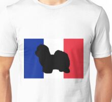 CdT silhouette on flag Unisex T-Shirt