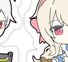 Haruka and Marry chibi Sticker