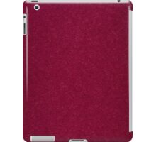 Red paper background iPad Case/Skin
