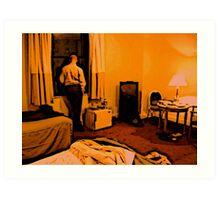 Lonesome In New York Art Print