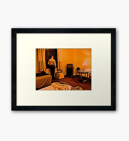 Lonesome In New York Framed Print