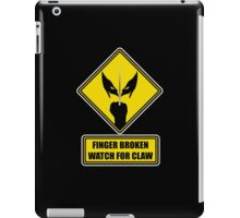 Watch for Claw! iPad Case/Skin