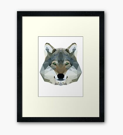 The Wolf of the North Framed Print