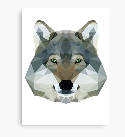 The Wolf of the North Canvas Print