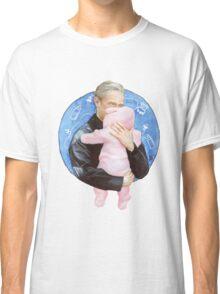 John Watson with Baby Rosamund Mary Watson Classic T-Shirt