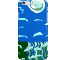 SEAGULLS OVER OCEAN 2 iPhone Case/Skin