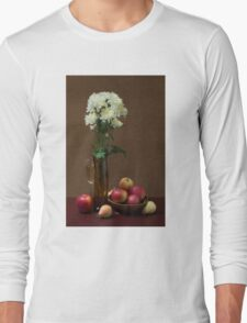 Still life with chrysanthemums Long Sleeve T-Shirt