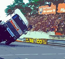 """Unique and rare 1980 Race Trucks France 9 (c) (t) """" fawn paint Picasso ! Olao-Olavia by Okaio Créations by Okaio - caillaud olivier"""