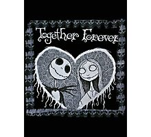 Jack and Sally Photographic Print