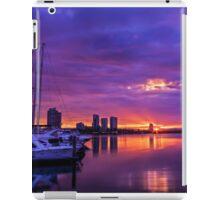 Marina Sunset iPad Case/Skin