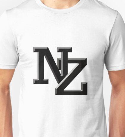 NZ letters New Zealand Unisex T-Shirt