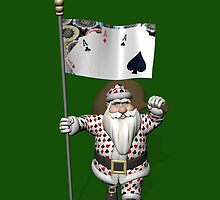Santa Claus Loves Playing Poker by Mythos57