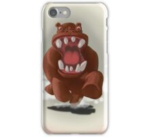 Hyper Hippo on the Charge iPhone Case/Skin