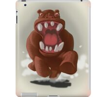 Hyper Hippo on the Charge iPad Case/Skin