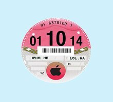 Tax Disc Law Change iPhone Case by ImageMonkey