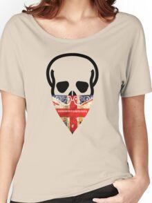 British Skull Gangster Women's Relaxed Fit T-Shirt