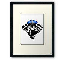 Cop and Convicts Framed Print